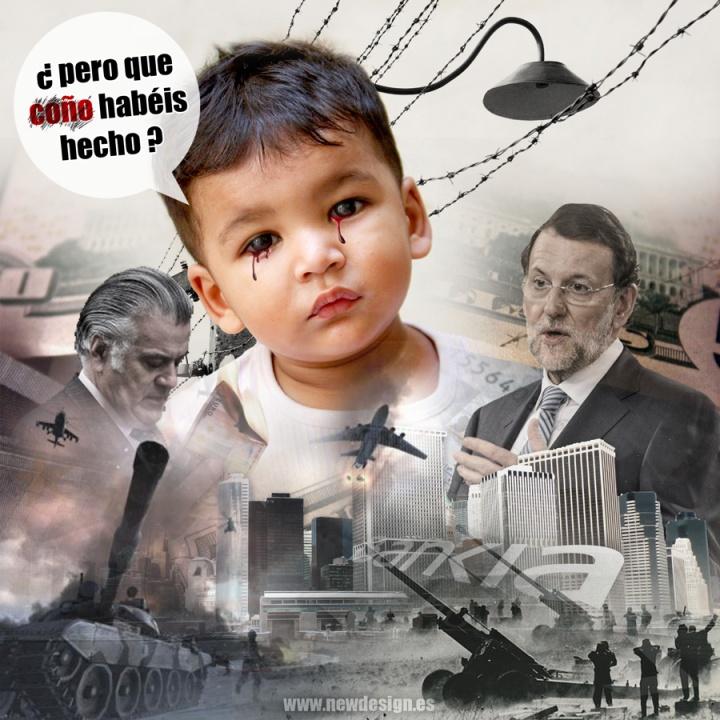 www.newdesign.es-pero-que-coño-habeis-hecho-crisis-rajoy-barcenas-dinero-guerra-ciudad-pobreza-tristeza-niño-llorando-web